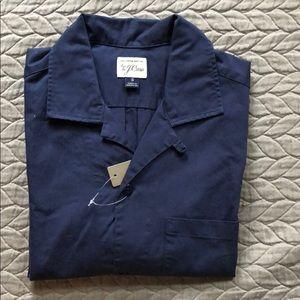 J.Crew Men's Short Sleeve Camp Shirt